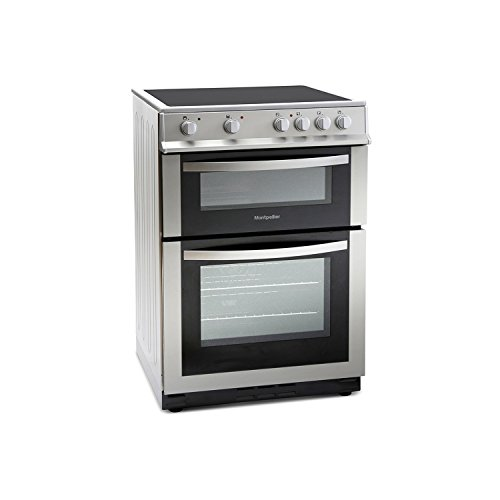 Montpellier MDC600FS 60cm Double Oven Electric Cooker with...
