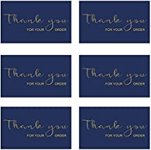RXBC2011 Thank You for Your Purchase Cards Package Insert for online business E-commerce Pack of 100
