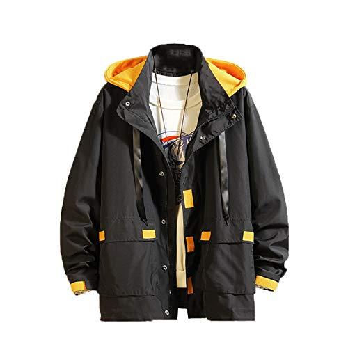 Chyoieya Los hombres de primavera otoño de moda slim fit casual chaqueta cortavientos bombardero para hombre Hip Hop chaquetas abrigo