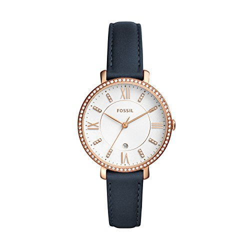 Fossil Damen Quarz Uhr mit Leder Armband ES4291