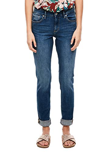 Q/S designed by - s.Oliver Damen Catie Slim: Bluejeans blue 44.34