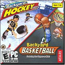 Backyard Hockey 2005 (PC) / Backyard Basketball (PC/Mac) bundle