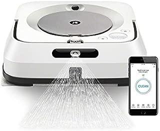 iRobot ブラーバジェットm6 アイロボット 床拭きロボット マッピング 水拭き Wi-Fi対応 遠隔操作 静音 複数の部屋の清掃可能 m613860 ホワイト【Alexa対応】