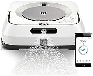 ブラーバ ジェット m6 アイロボット 床拭きロボット マッピング 水拭き Wi-Fi対応 遠隔操作 静音 複数の部屋の清掃可能 m613860 ホワイト【Alexa対応】