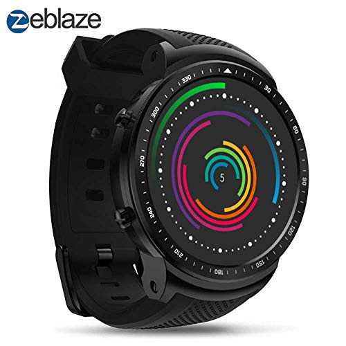 MeterMall Useful Zeblaze THOR PRO 1.53 Inch 1+16GB 3G GPS WIFI Smartwatch Android 5.1 MTK6580 Quad Core 2.0 MP Camera Heart Rate Monitor Smart Watch