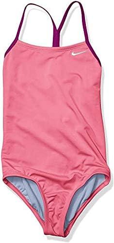 Nike girls Racerback One Piece Swimsuit