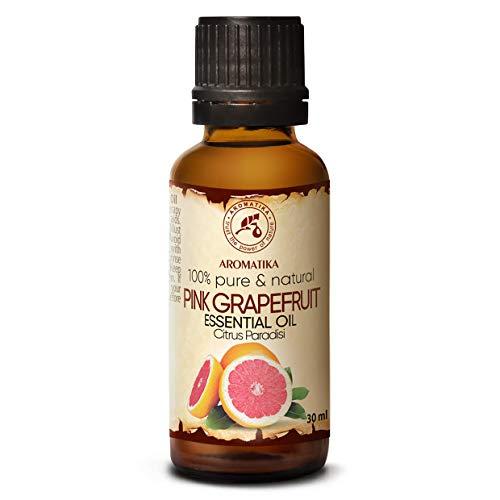 Olio Pompelmo 30ml - 100% Puro & Naturale Olio Essenziale - Citrus Paradisi - Sudafrica - Bellezza - Aromaterapia - Spa - Diffusore di Aromi - Lampada dell'aroma - Fragranza della Stanza - Massaggio