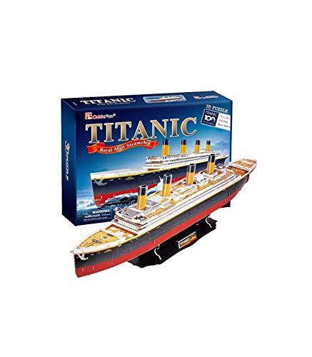 CubicFun Puzzle 3D del Barco Titanic, 113 Piezas (771T4011)