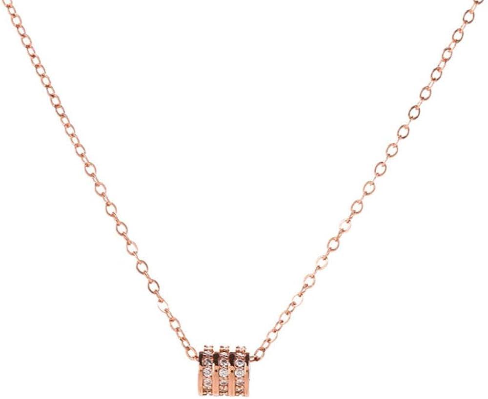 QERTYU Collar de Cintura Xiaowan diseño de nicho Femenino Collar de clavícula de Moda