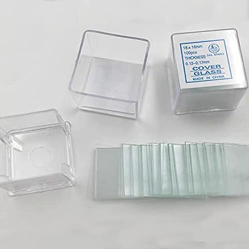 100pcs Square Microscope Cover 2021 Special sale item new Glass 18mm