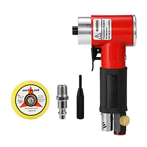 KKmoon Mini Lijador Neumática de alta velocidad,Lijadoras de Cólera de Aire, Herramienta Pulida de Esmerilado de Alta Resistencia,Máquina de lijado
