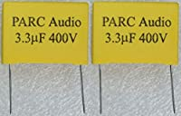 フィルムコンデンサー(3.3uF) 2個セット DCP-FC001-330-2