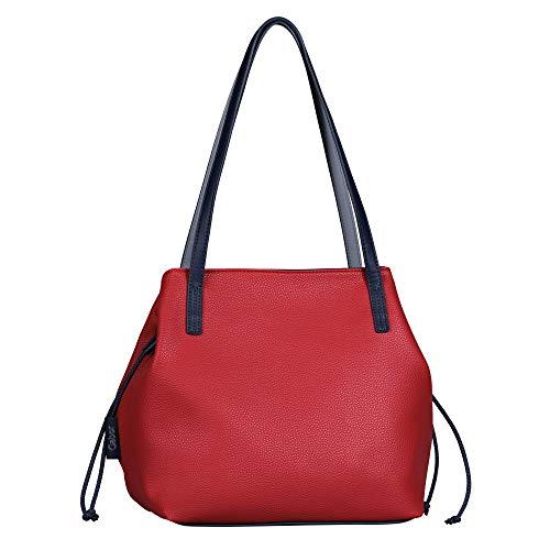 Gabor Damen Granada Sport Shopper, red, M