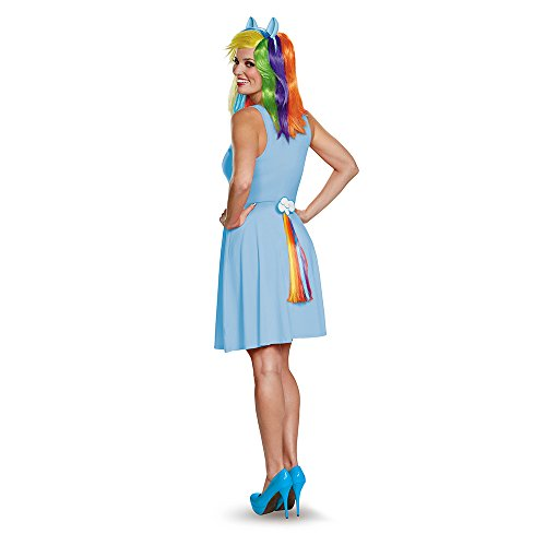 Rainbow Dash Tail for Adults
