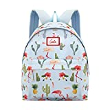 Genie Flamenco 20 litres Sky Blue Casual Backpack (Laptop,16 inch,Water Resistant)