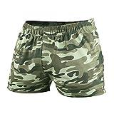 Pantalones Cortos De Entrenamiento De Fitness para Hombres 3 Pulgadas Ocio En Casa Correr Moda única En Gimnasio O Entrenamiento