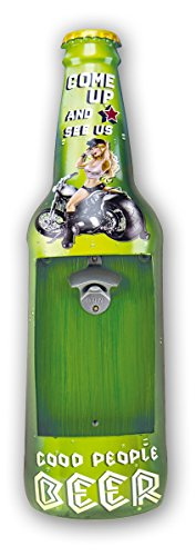 Zep YY298 Plaque métal, Vert, Noir, Blanc, 61 x 17,5 x 4 cm