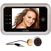 prsTECH DoorCAM DC1 Digitaler Türspion, 3,5 Zoll LCD Display für Türstärken von 38-110mm