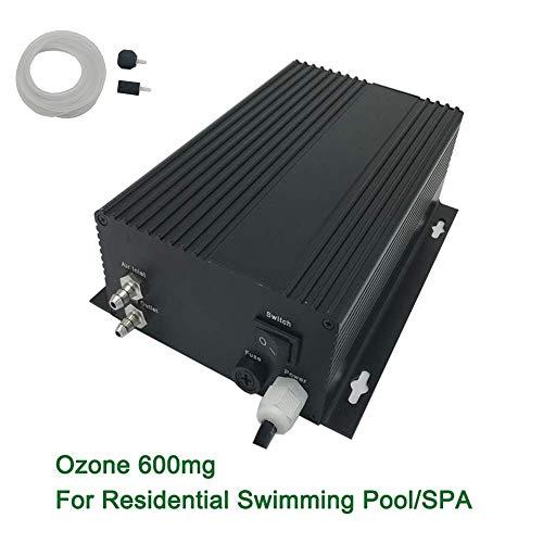 ZCCGRASS Purificador Comercial 600mg / HR del Agua de los generadores del ozono del ozonizador de la Piscina/del Balneario