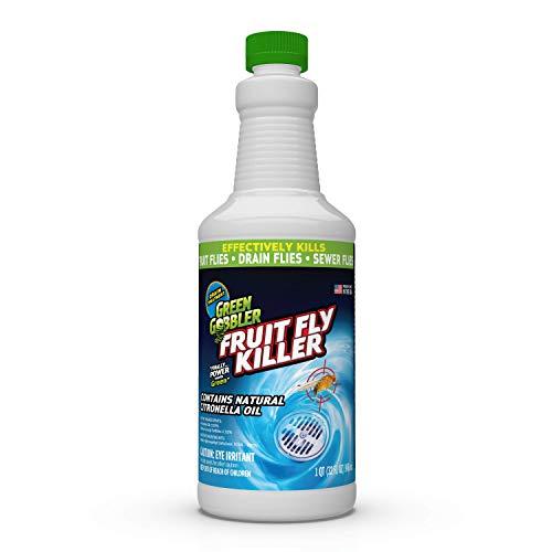 FRUIT FLY GOODBYE Gel Drain Treatment | Drain Fly Killer | Fruit Fly Killer | Drain Flies Treatment | Fruit Flies Treatment | Drain Fly & Fruit Fly Eliminator (32 oz)