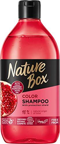 NATURE BOX_Color Shampoo szampon do w³osów Pomegranate Oil 385ml