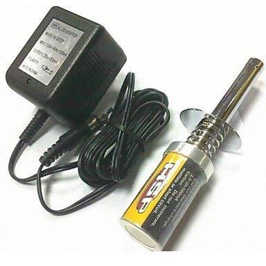 ZCL 80101-pro wiederaufladbare Glühkerzenstecker mit Ladegerät 1,2 V 1800mAh Akku für Nitro rc car hsp Himoto Motorwerkzeuge
