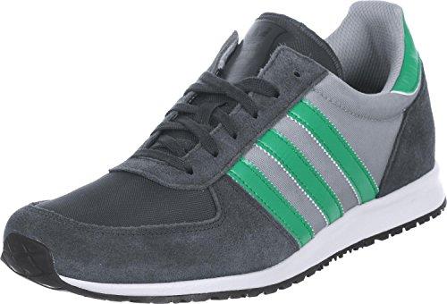 adidas Originals Adistar Racer, Laufschuhe für Herren, grau (Carbon/Fresh Green/Aluminium) - Größe: 46 2/3 UK 11,5