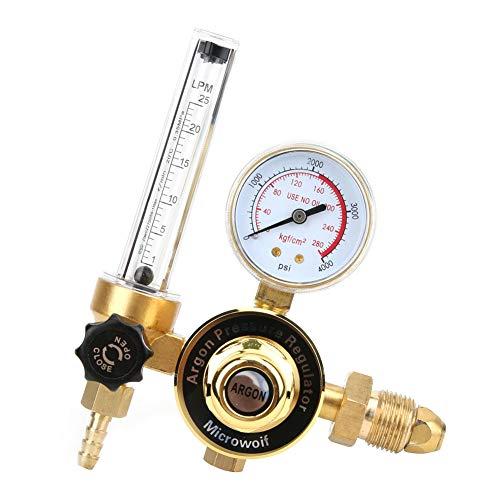 Regulador de presión de argón del hilo masculino G5/8 de alta presión...