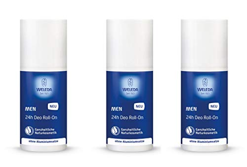Weleda Men-Aktiv 24h Deo Roll-On 3x50ml