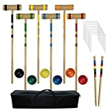 Best Family Croquet Sets - Juegoal Upgrade Six Player Croquet Set for Kids Review