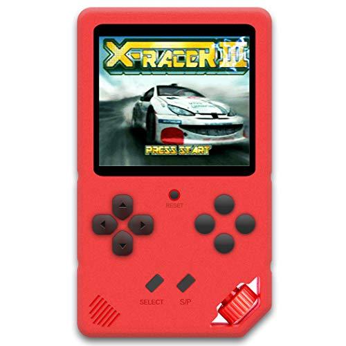 ZHISHAN Consola de Juegos Portátil para Niños Videojuego Preinstalado 220 HD de...