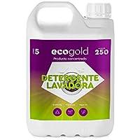 Ecogold Detergente ecológico para Lavadora 5L - Unidad de Recarga (250 Lavados)