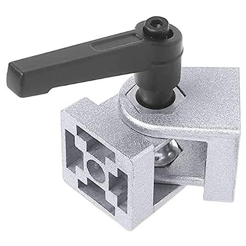 Perfil de extrusión de aluminio Junta de pivote de aleación de zinc fundido a presión, Junta de pivote flexible, Bisagra de aleación de zinc con mango Conector de junta de pivote fundido a presión