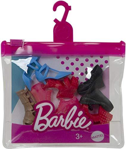 Barbie Fashion Pack zapatos - GXG02 - Lote de 5 zapatos para...