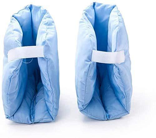 Fersenpolster, Weiche Bequeme Fersenschoner, zur Vorbeugung von Druckstellen Fersenschutzkissen, Fuß- oder Ellbogenschutz für Bett oder Rollstuhl . 1 Paar