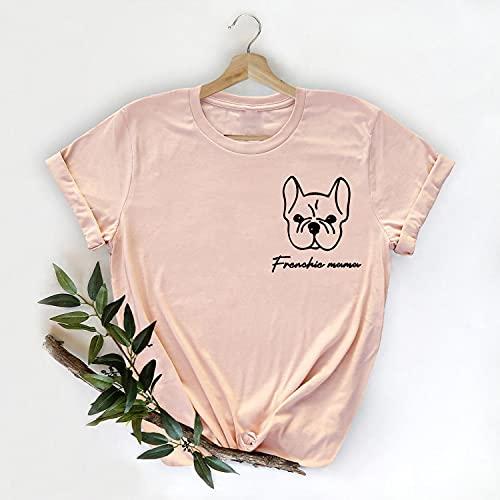 Frenchie Mom Shirt, Dog Mom Shirt, Dog Lover Shirt, Dog Mom Gift, Dog Lover Gift, Frenchie Gift, French Bulldog Tshirt, Fur Mom, Pet Owner Tank Top, V-Neck, T-Shirt, Long Sleeve, Sweatshirt, Hoodie