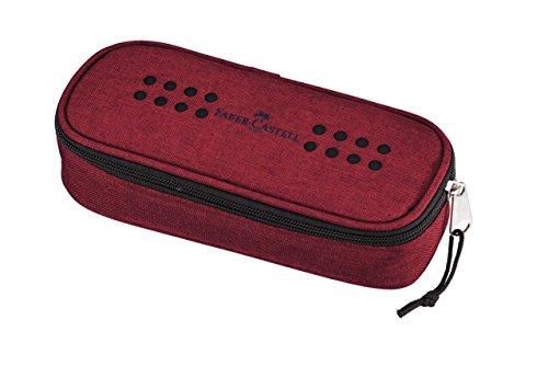 Faber-Castell Grip Trousse à crayons Polyester Rouge - Trousses à crayons (60 mm, 210 mm)