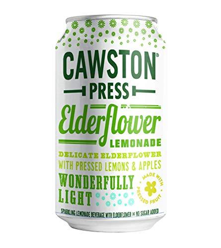 Cawston Press Sparkling Elderflower Lemonade, 11.15 Ounce Cans (Pack of 24)