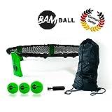 bamball-set con 3 palline + pompa extra - il gioco estivo perfetto - contiene 3 palline, sacca, pompa e istruzioni - gioco per bambini, ragazzi e adult