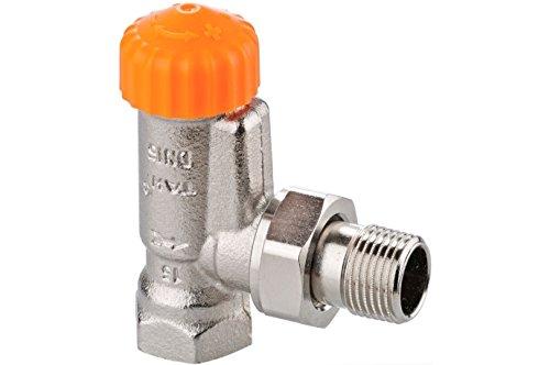 Heimeier A-exact hoek thermostaat-ventielonderdeel DN 10