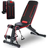 Holato Adjustable Foldable Workout Weight Bench
