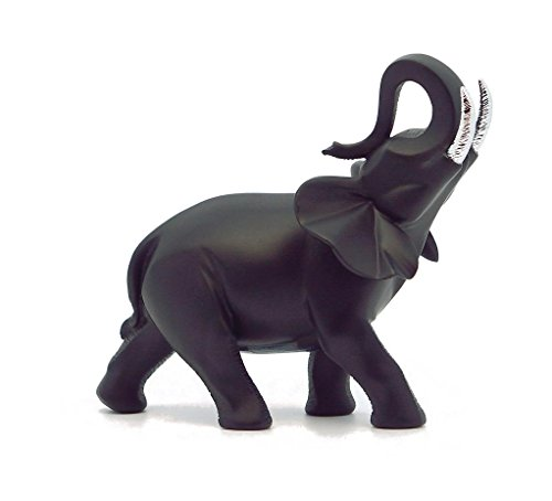 Nadal Figura Decorativa Elefante, Resina, Multicolor, 7.00x12.25x11.50 cm