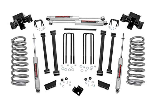 Rough Country 3' Lift Kit (fits) 1994-2002 Ram Truck 2500 4WD | N3 Shocks | Control Arms Suspension System | 351.20