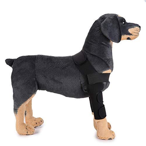 Smoro Rodilleras para Mascotas Protectores de piernas para Perros cirugía para Perros Lesiones Cubierta Protectora Polainas para Perros Pierna de Guardia Rodillera - Largo
