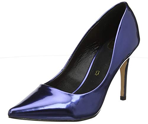 Buffalo Damen Fanny Pumps, Blau (Navy 001), 38 EU