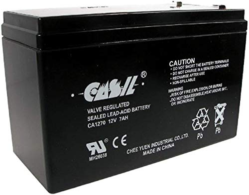 Original Casil CA1270 12v 7ah ADT Home Alarm Battery