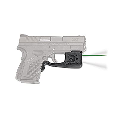 Crimson Trace LL-802 Laserguard Pro Red Laser Sight and Tactical Light for Springfield Armory XD-S Pistols from Crimson Trace