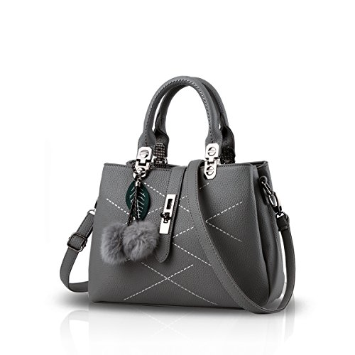 Nicole&Doris New Wave Ladies handbag - Grey