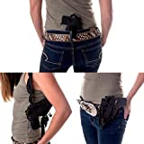 Gun Holster Buy 1 get 2 Free Shoulder/Concealed/Hip IWB FITS Ruger Security-9 9MM Luger 4' Barrel Smith & Wesson SW9VE 5900 Glock 30 19 23 Kahr CW 40 Taurus 24/7 Springfield XD9 45 357 Issc M22 5