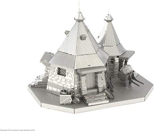 Professor Puzzle MMS441 Warner Brothers Harry Potter Metal Earth Hagrid's Hagrid's Hut, Kit de Modelo